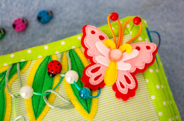 Cloth Activity Book For Toddlers: How To Make One And Why