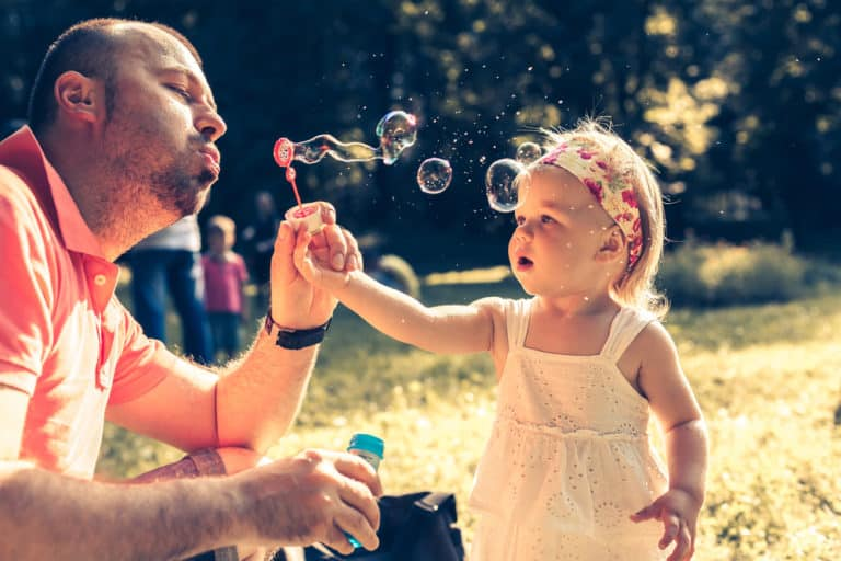 8 Amazing Sensory Activities With Bubbles For Babies